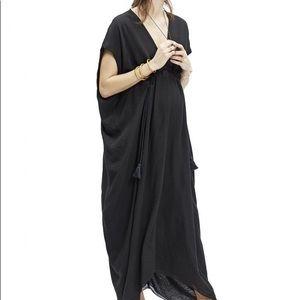 Hatch Collection maternity Neema dress black o/s